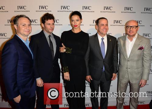 Jason Binn, James Marsden, Adriana Lima, Philip Levine and Georges Kern 1