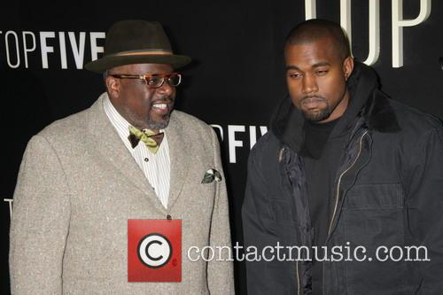 Cedric The Entertainer and Kanye West 3