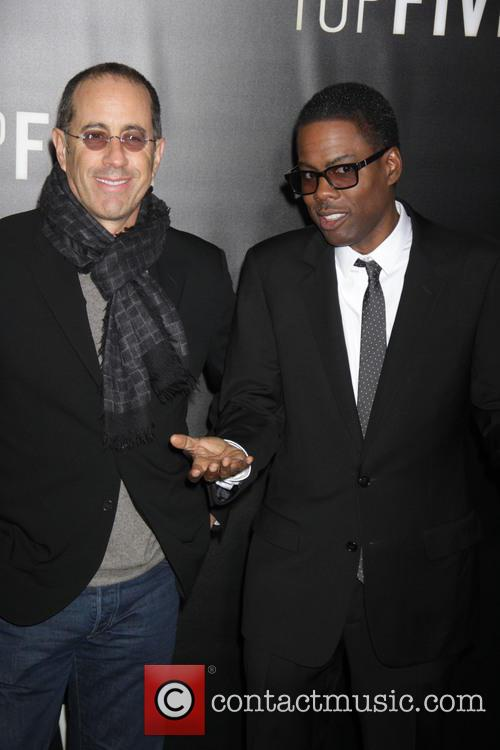 Jerry Seinfeld and Chris Rock