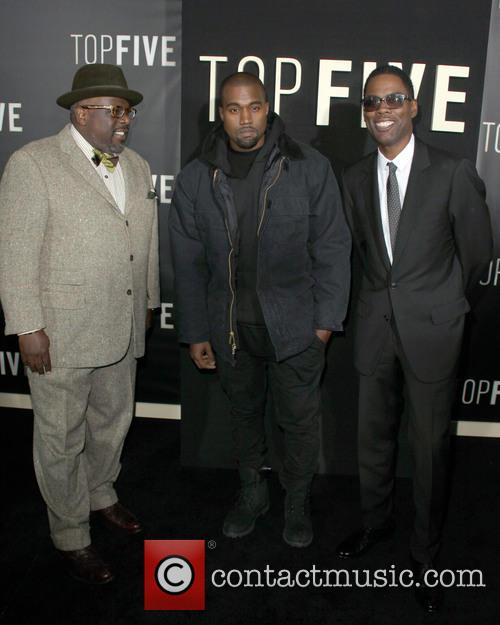 Cedric The Entertainer, Kanye West and Chris Rock
