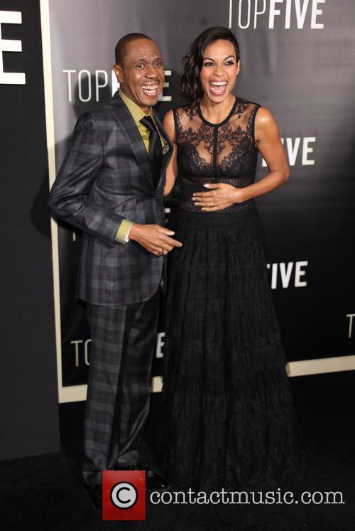 Freddy Jackson and Rosario Dawson 7