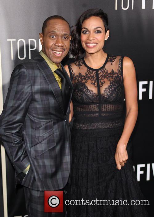 Rosario Dawson and Freddy Jackson 8