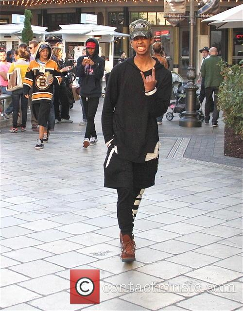 Mindless Behavior go shopping at The Grove