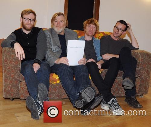 Brian Gleeson, Brendan Gleeson, Domhnall Gleeson and Enda Walsh