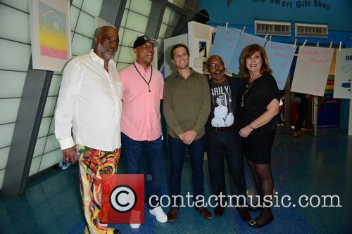 Daniel Simmons Jr., Russell Simmons, Patrick Rowe, Guest and Deborah Spiegleman 4