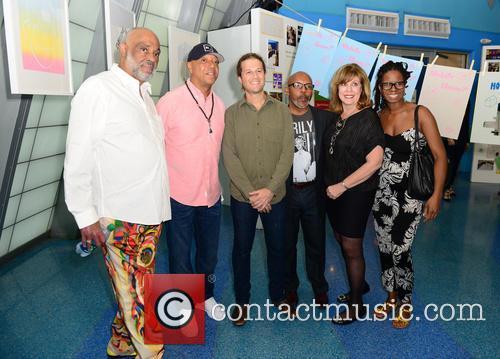 Daniel Simmons Jr., Russell Simmons, Patrick Rowe, Guest, Deborah Spiegleman and Tangie Murray 5