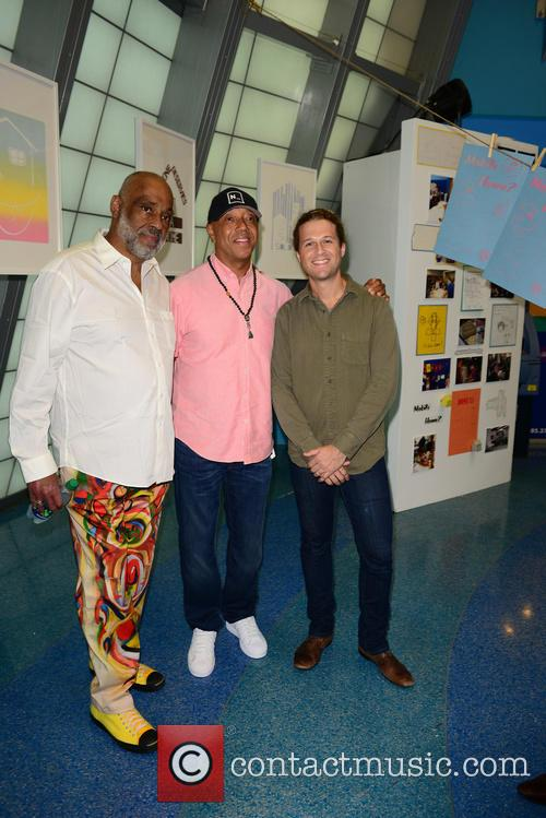 Daniel Simmons Jr., Russell Simmons and Patrick Rowe 6