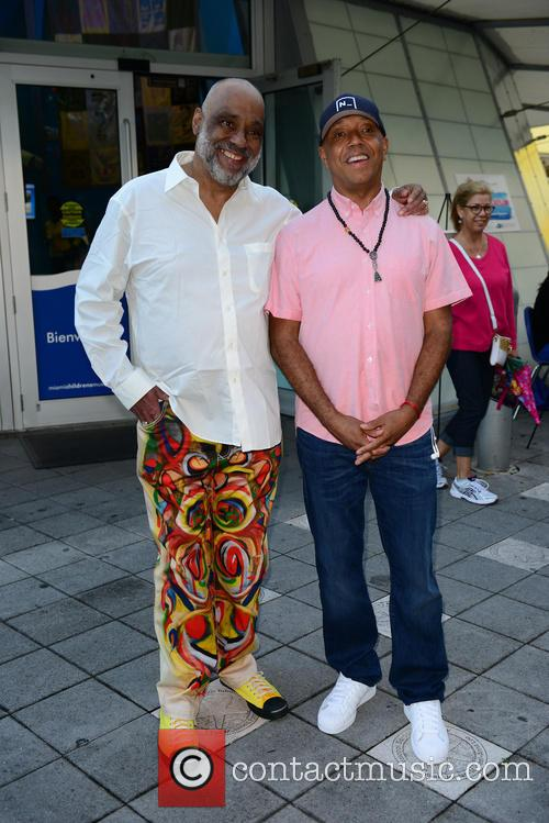 Daniel Simmons Jr. and Russell Simmons 3