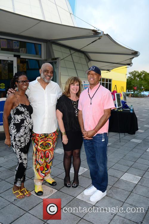 Tangie Murray, Daniel Simmons Jr., Deborah Spiegleman and Russell Simmons 4