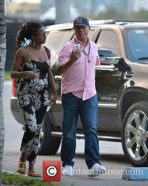 Tangie Murray and Russell Simmons 2