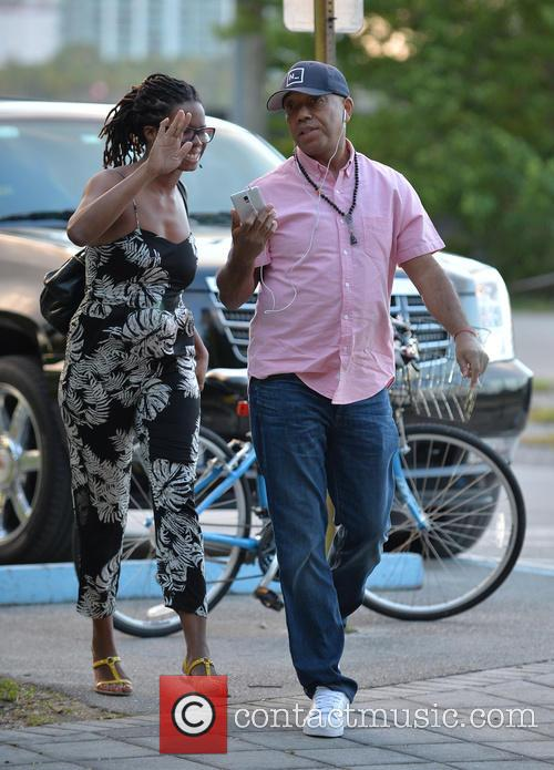 Tangie Murray and Russell Simmons 3