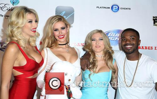 Ray J and Kennedy Summers 10