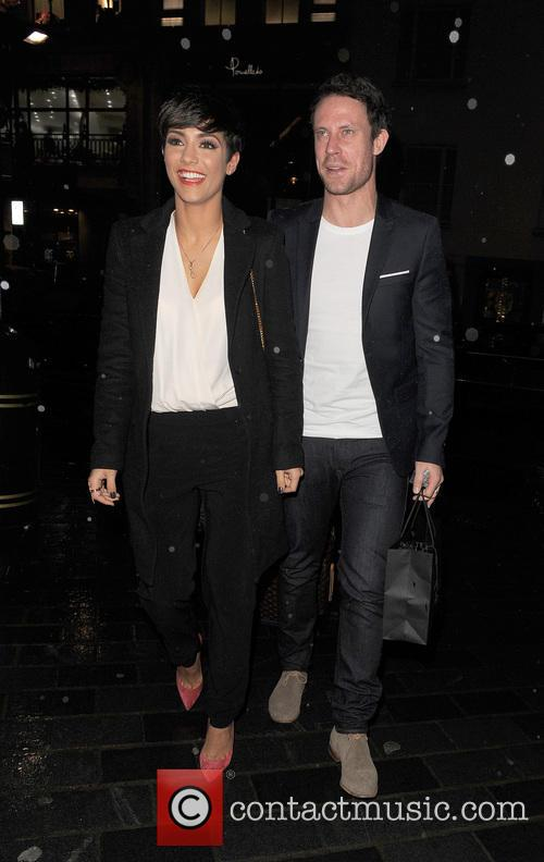 Frankie Bridge, Wayne Bridge and Frankie Sandford