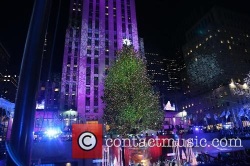 General View Of The Atmosphere At The 82nd Annual Rockefeller Christmas Tree Lighting Ceremony At Rockefeller Center 2