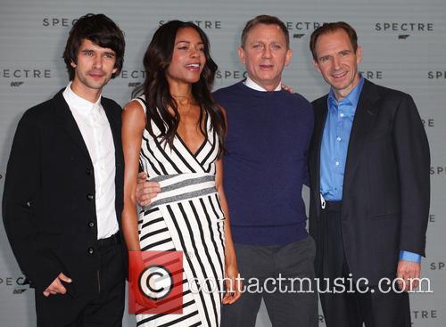 Ben Whishaw, Naomie Harris, Daniel Craig and Ralph Fiennes 5