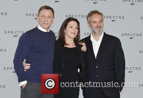Daniel Craig, Barbara Broccoli and Sam Mendes 11