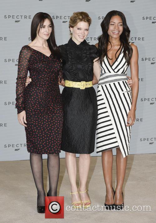 Monica Bellucci, Lea Seydoux and Naomi Harris 8