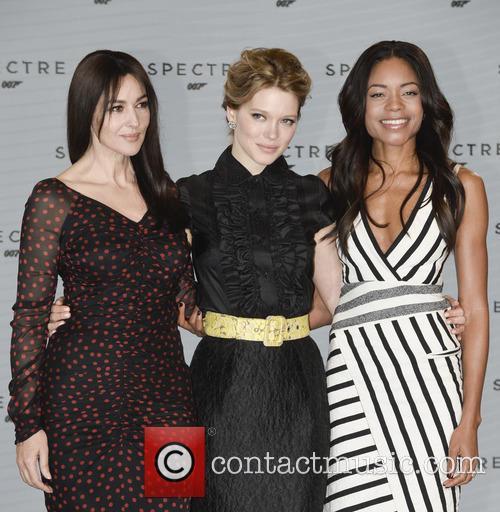 Monica Bellucci, Lea Seydoux and Naomi Harris 9