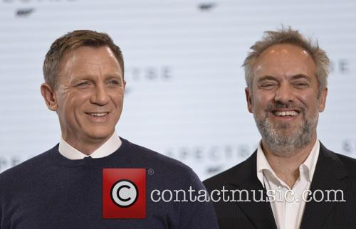 Daniel Craig and Sam Mendes at 'Spectre' launch