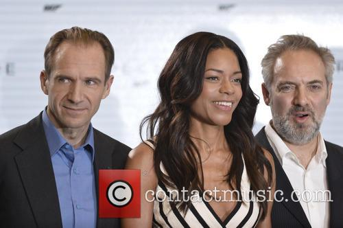Ralph Fiennes, Naomi Harris and Sam Mendes 2