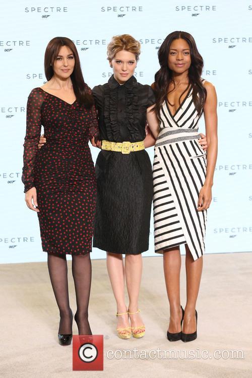 Naomie Harris, Lea Seydoux and Monica Bellucci 7