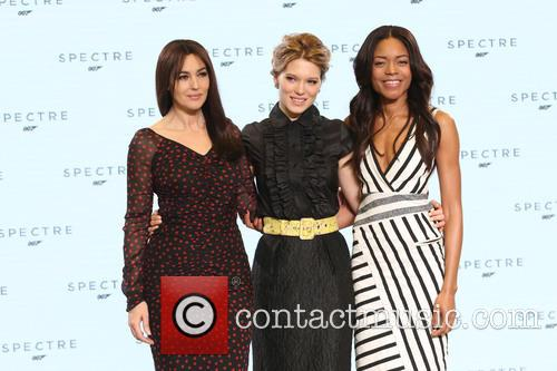 Naomie Harris, Lea Seydoux and Monica Bellucci 8