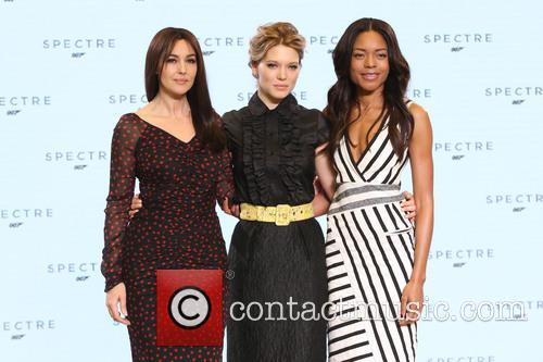 Naomie Harris, Lea Seydoux and Monica Bellucci 9