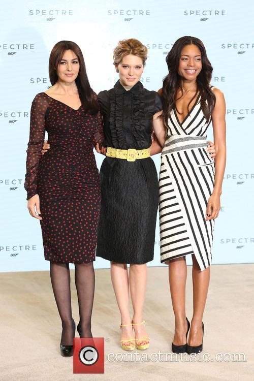 Naomie Harris, Lea Seydoux and Monica Bellucci 10