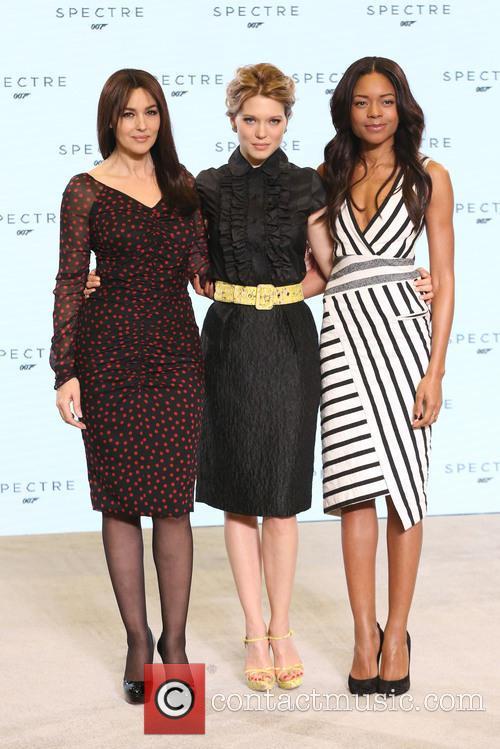 Naomie Harris, Lea Seydoux and Monica Bellucci 11