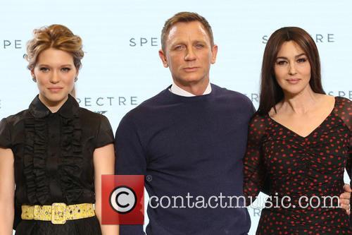 Daniel Craig, Lea Seydoux and Monica Bellucci 6