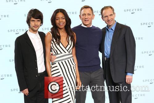 Naomie Harris, Daniel Craig, Ben Whishaw and Ralph Fiennes 1