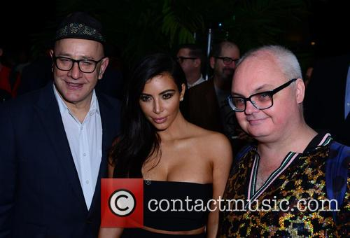 David Hershkovits, Kim Kardashian and Mickey Boardman 2