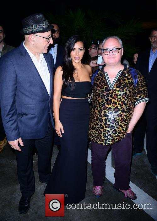 David Hershkovits, Kim Kardashian and Mickey Boardman 3