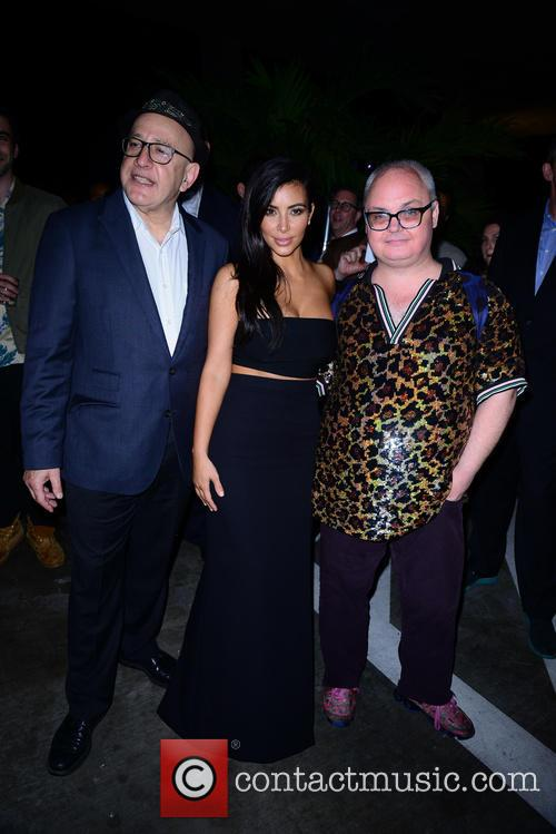 David Hershkovits, Kim Kardashian and Mickey Boardman 1
