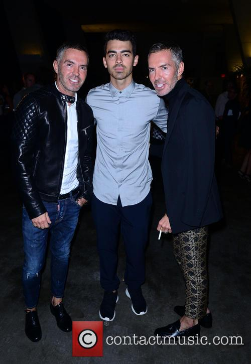 Joe Jonas, Dsquared2 Designers Dean Caten and Dan Caten 4