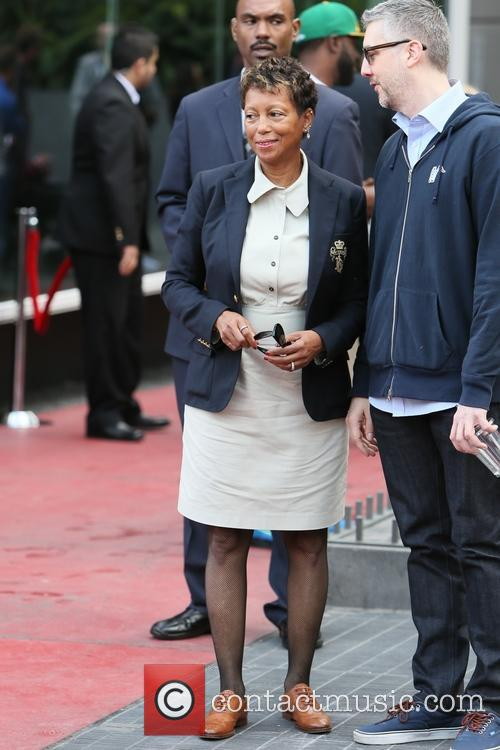 Pharrell Williams and Carolyn Williams 8