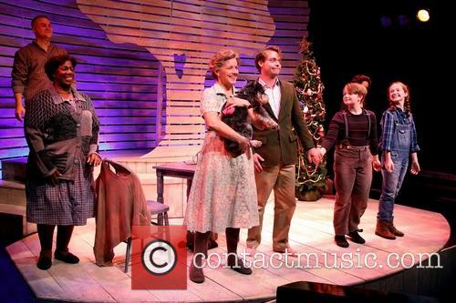 A Christmas Memory Opening Curtain Call