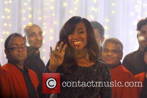 Alexandra Burke performs live for Sky Arts at...