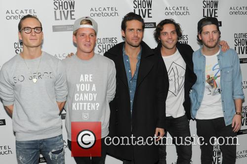 Oliver Proudlock, Jaimie Laing, Spencer Matthews, Andy Jordan and Stevie Johnson