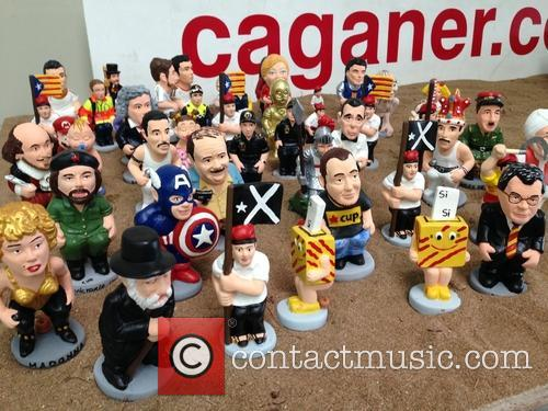 Celebrity Christmas Caganer 2