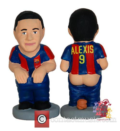 Celebrity Christmas Caganer 5