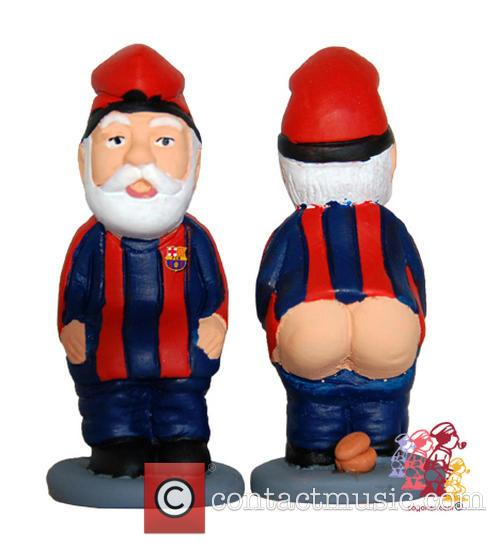 Celebrity Christmas Caganer 8
