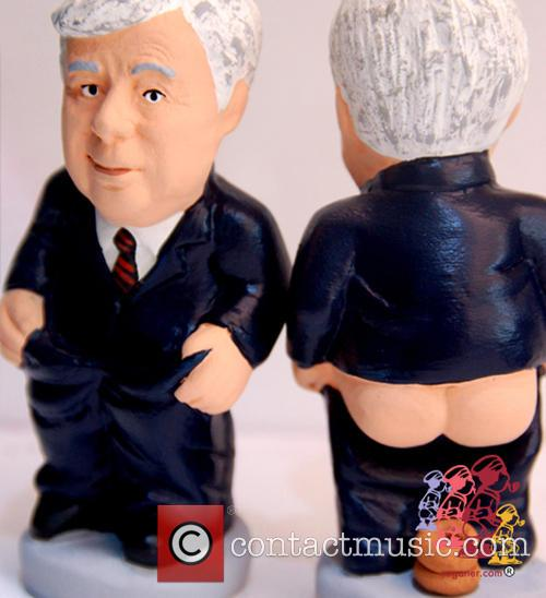 Celebrity Christmas Caganer 9