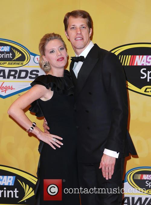 Brad Keselowski and Paige White 1