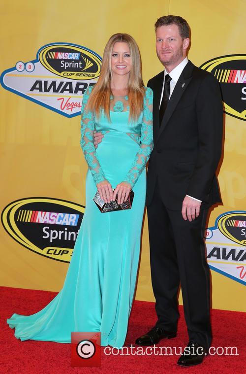 Dale Earnhardt Jr and Amy Reimann 1