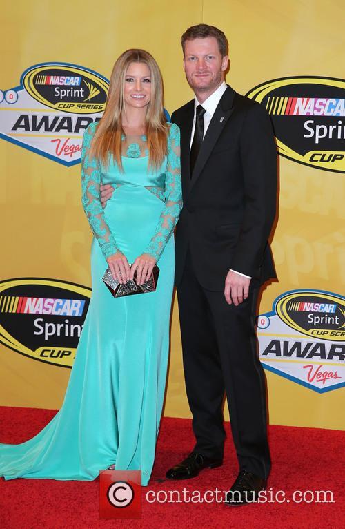 Dale Earnhardt Jr and Amy Reimann 2