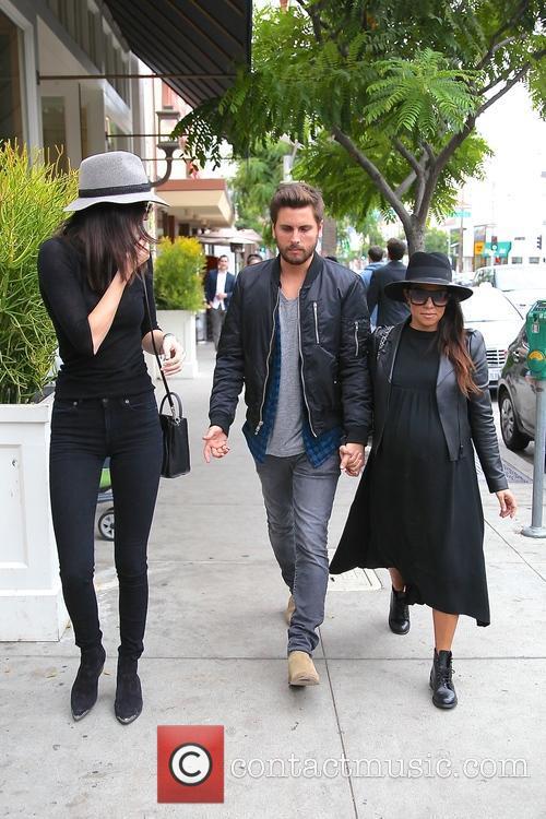 Kourtney Kardashian, Scott Disick and Kylie Jenner 3