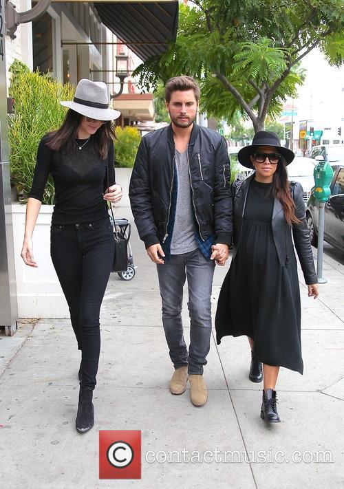 Kourtney Kardashian, Scott Disick and Kylie Jenner 6
