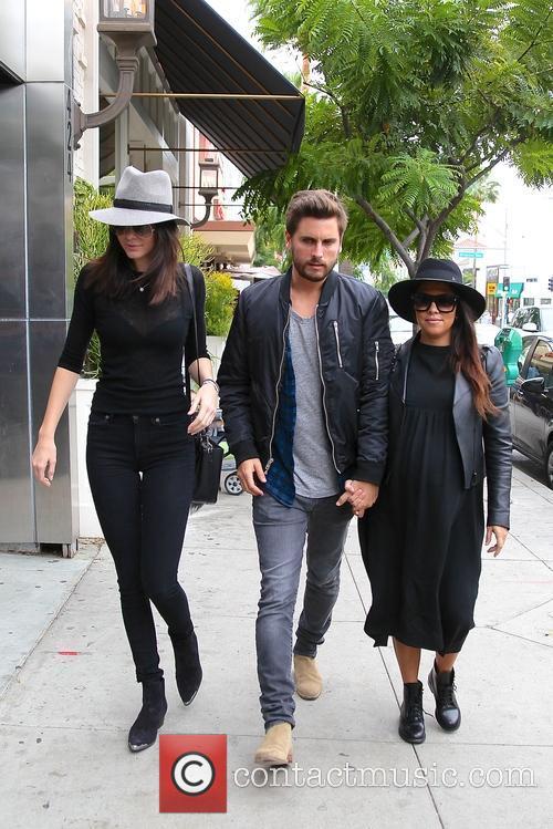 Kourtney Kardashian, Scott Disick and Kylie Jenner 8