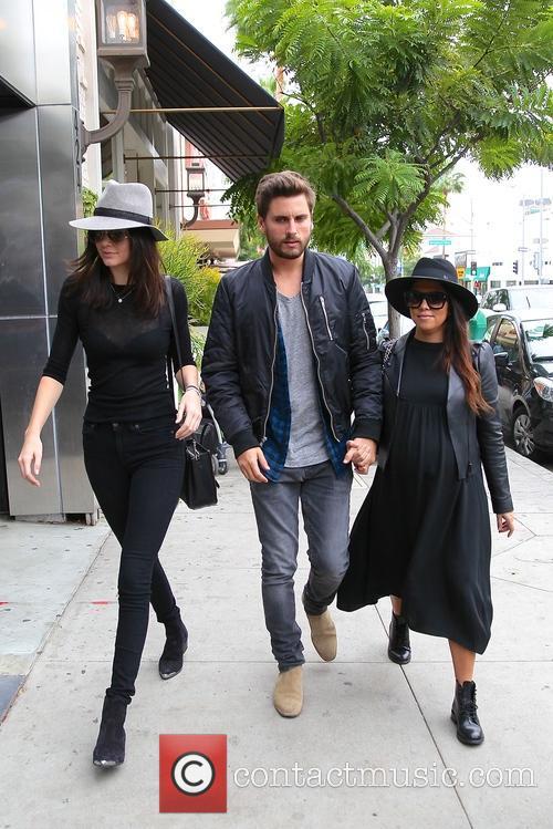 Kourtney Kardashian, Scott Disick and Kylie Jenner 9